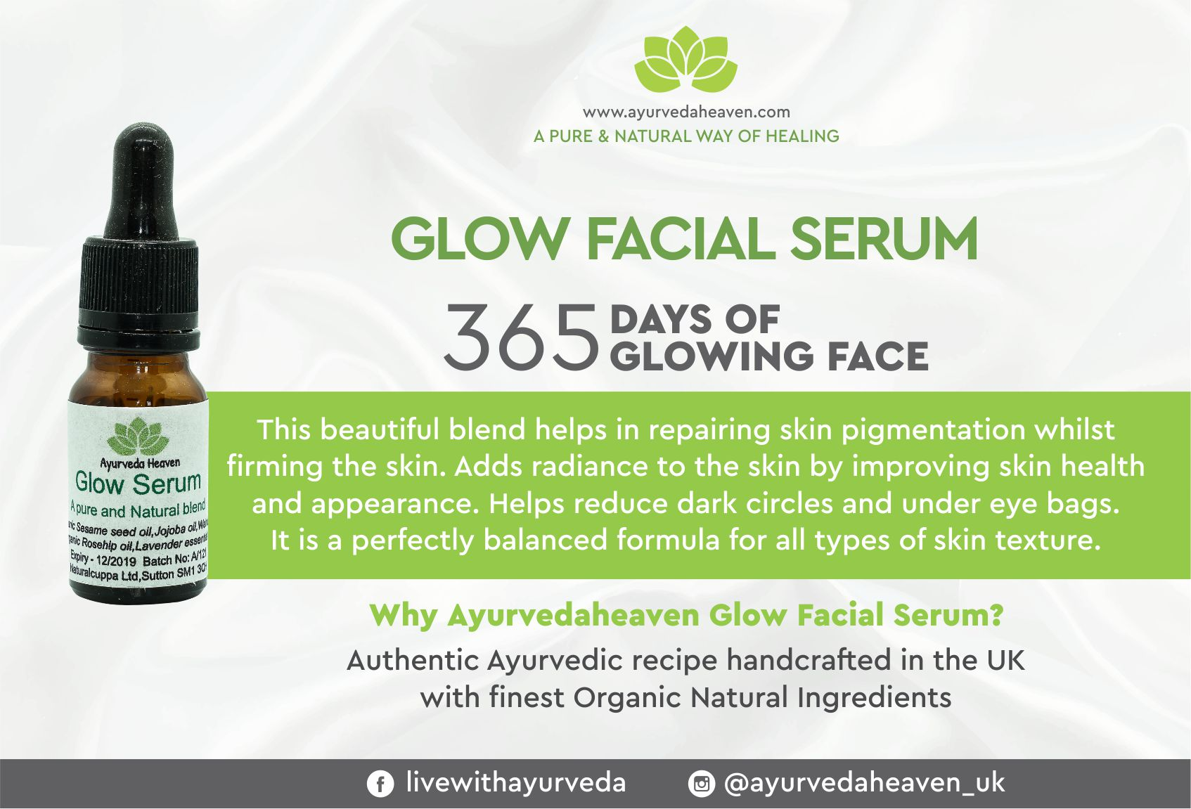 GLOW FACIAL SERUM 10 ML