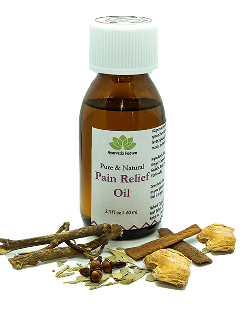 ORGANIC PAIN RELIEF OIL 60 ml