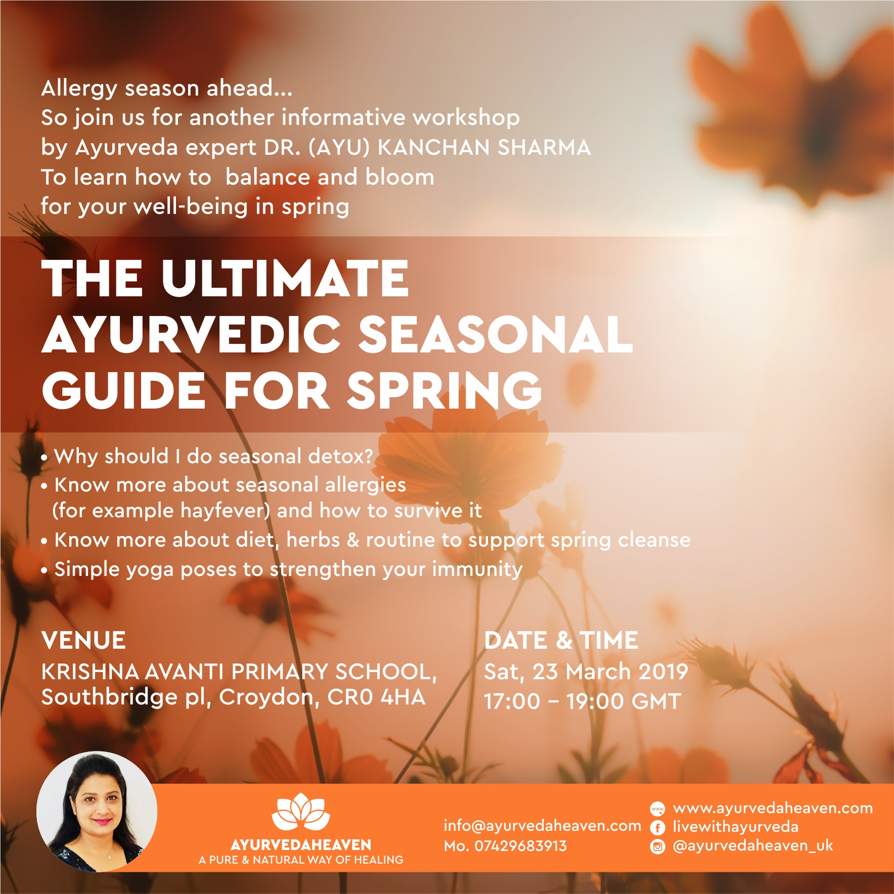 SPRING CLEANSE WITH AYURVEDA